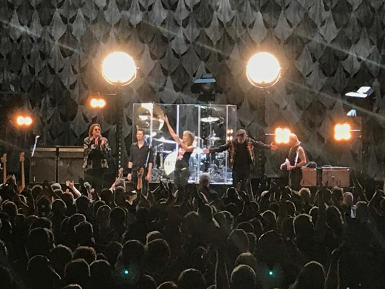 A return visit - 31 years later - to see The Pretenders!
